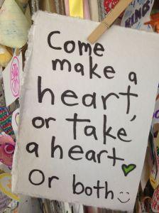 take a heart!