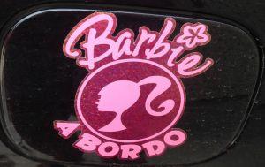 barbie a bordo