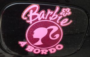barbie a bordo